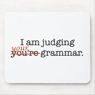 Judging Your Grammar Mousepad