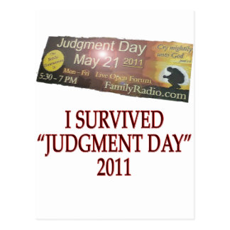 JUDGMENT copy Postcard