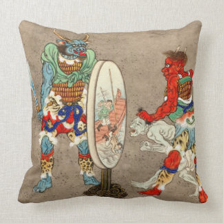 Judgment Day 1878 Throw Pillow