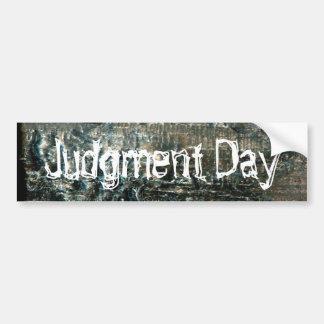 Judgment Day Bumper Sticker