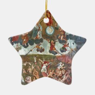 judgment day ceramic ornament
