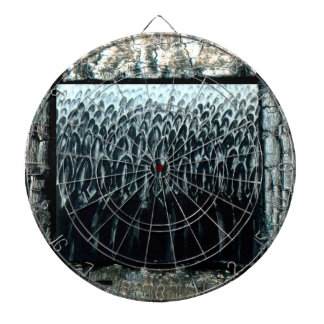 Judgment Day Dartboard With Darts