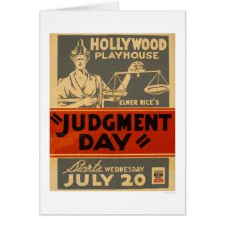 Judgment Day Mayan 1938 WPA Card