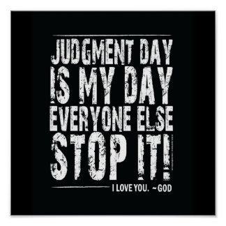 Judgment Day Print