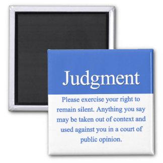 Judgment Magnet