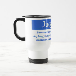 Judgment Mug