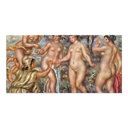 Judgment Of Paris By Pierre-Auguste Renoir (Best Q Photo Cards