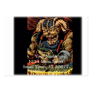 judgment of the devil large business card
