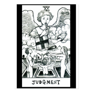 Judgment Postcard