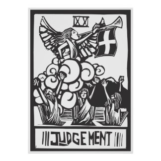 Judgment Tarot Card Poster