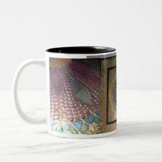 "Judi Bergin's ""Sunflower - Not Van Gogh"" Mug"