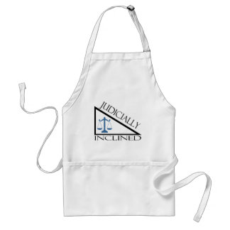 Judicially Inclined Adult Apron