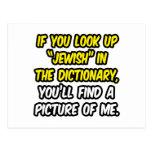 Judío en diccionario… mi imagen tarjeta postal