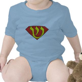 Judío estupendo traje de bebé