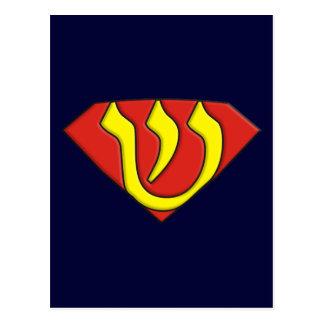 Judío estupendo postal