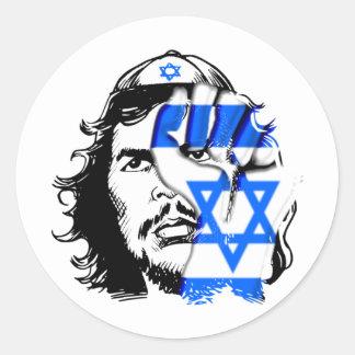 Judío Guevara Pegatina Redonda