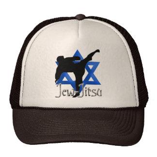 Judío Jitsu Gorras