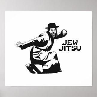 Judío Jitsu Poster