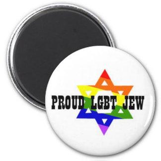 Judío Magent de LGBT Imán Redondo 5 Cm