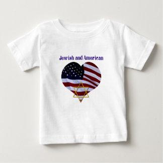 Judío Y americano Playeras