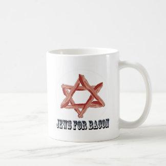 Judíos para el tocino taza clásica