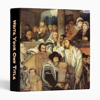 Judíos que ruegan por Maurycy Gottlieb