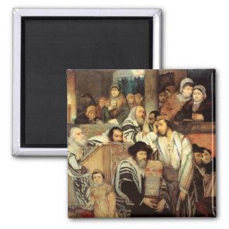Judíos que ruegan por Maurycy Gottlieb - circa 187 Imanes Para Frigoríficos