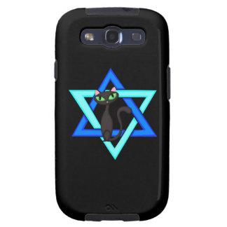 Jüdische Katzen-Sterne Samsung Galaxy S3 Case