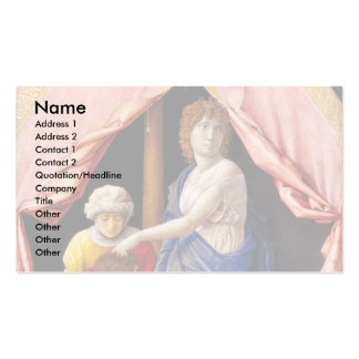 Judith And Holofernes By Andrea Mantegna Double-Sided Standard Business Cards (Pack Of 100)