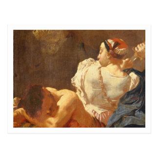 Judith and Holofernes Postcard