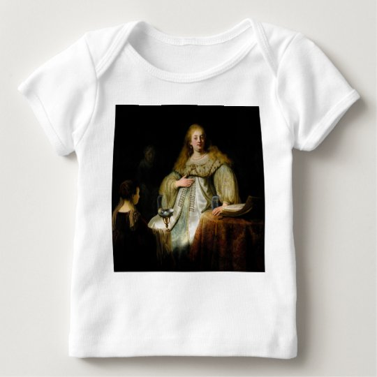 Judith at the banquet of Holofernes by Rembrandt Baby T-Shirt