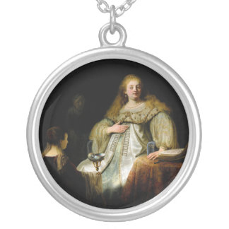 Judith at the banquet of Holofernes by Rembrandt Necklace