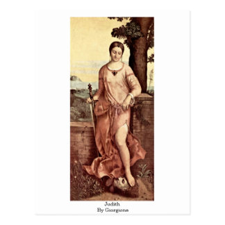 Judith By Giorgione Postcard