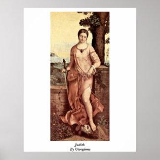 Judith By Giorgione Print