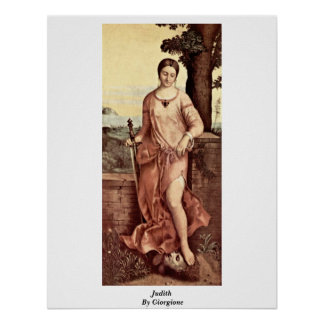Judith By Giorgione Poster