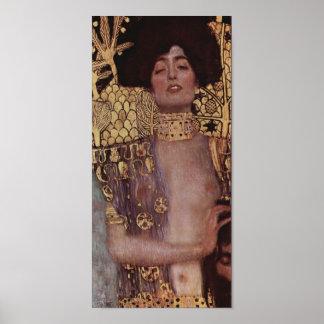 Judith con el Holofernes principal Poster