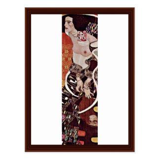 Judith de Klimt Gustavo Postales