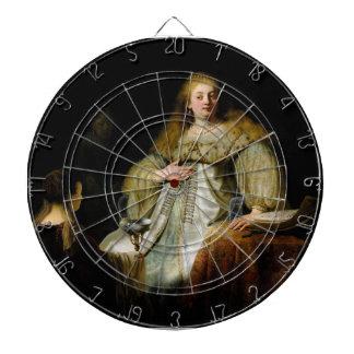 Judith en el banquete de Holofernes de Rembrandt Tablero De Dardos