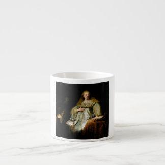 Judith en el banquete de Holofernes de Rembrandt Taza Espresso