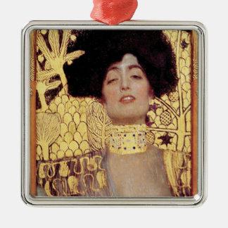 Judith,femme fatale,painted by Gustav Klimt, art Metal Ornament