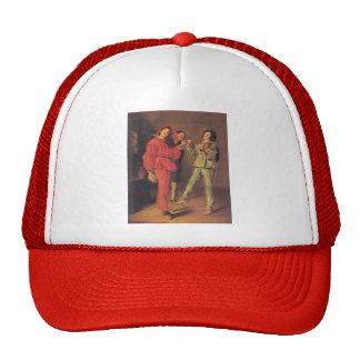 Judith Leyster- Three Boys Merry-making Trucker Hat