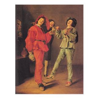 Judith Leyster- Three Boys Merry-making Postcards