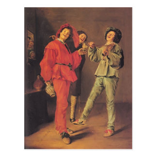 Judith Leyster- Three Boys Merry-making Post Cards