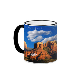 Judith on Cathedral Rock and Courthouse Mug