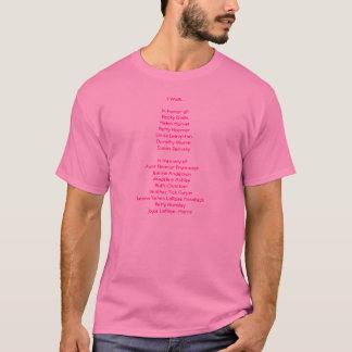 Judith Warren Avon Walk T-Shirt