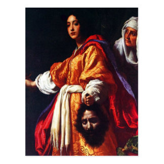 Judith with the Head of Holofernes Postcard