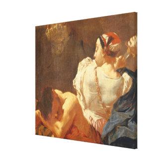 Judith y Holofernes Lona Envuelta Para Galerias