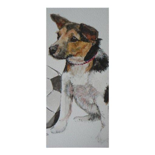 Judith's doggie personalized rack card