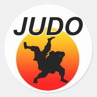 JUDO2 CLASSIC ROUND STICKER