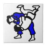 Judo Azulejo Cerámica